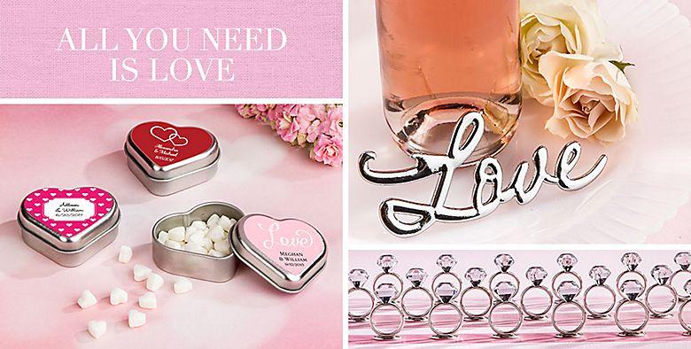 Love Wedding Favors
