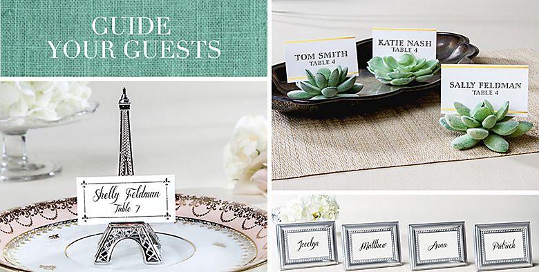 Place Card Holder Wedding Favors