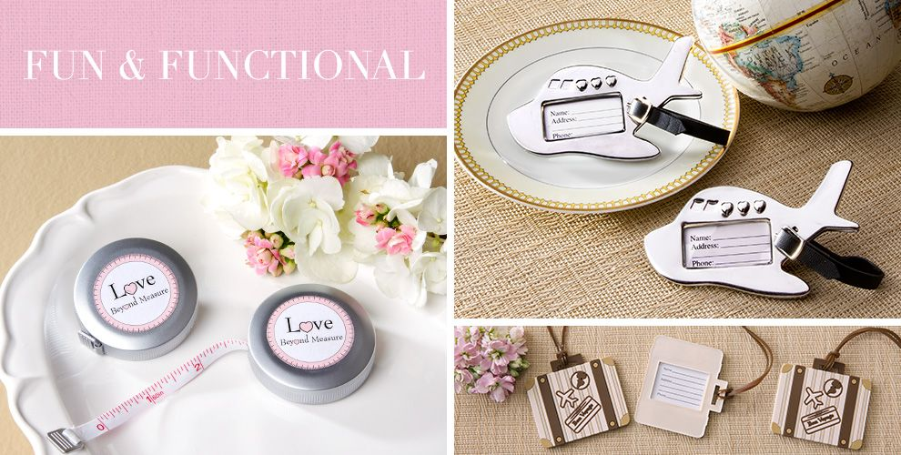Practical Wedding Gift: Shop For Practical Wedding Favors That Make Useful Gifts