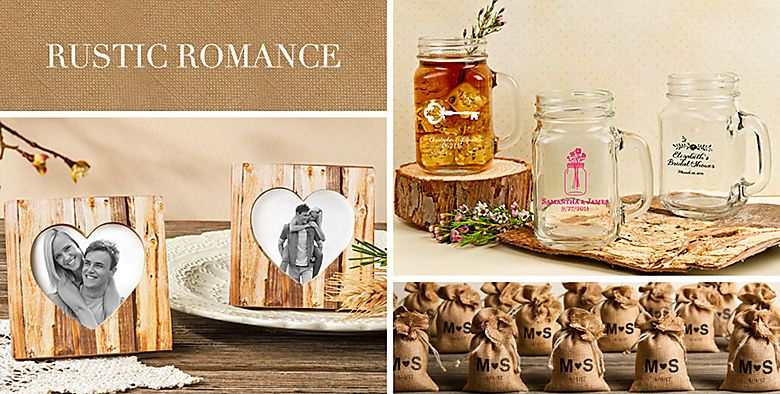 Country & Rustic Wedding Favors - Vintage Wedding Favors ...