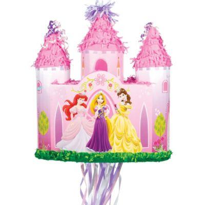 Pull String Disney Princess Castle Pinata