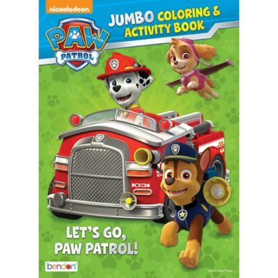 - PAW Patrol Coloring & Activity Book Party City