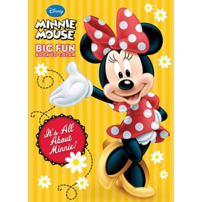 - Minnie Mouse Coloring & Activity Book Party City