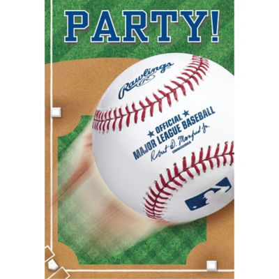 Rawlings Baseball Invitations 8ct