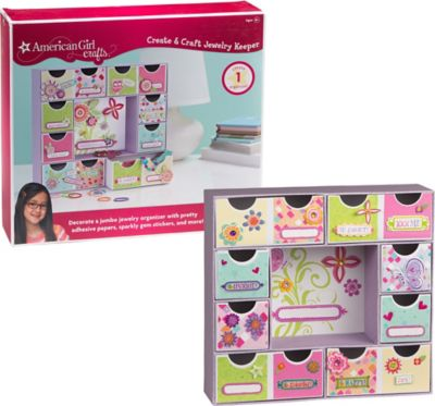 American Girl Jewelry Organizer Craft Kit 230pc Party City