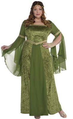 fb05280fbd Adult Renaissance Gown Plus Size