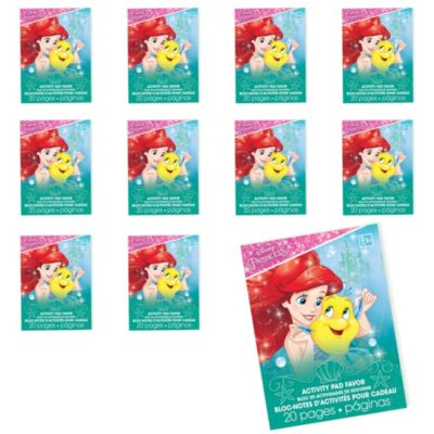 Little Mermaid Coloring Books 48ct Party City