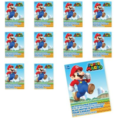 - Super Mario Coloring Books 48ct Party City