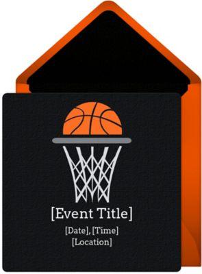 Online Basketball Net Invitations