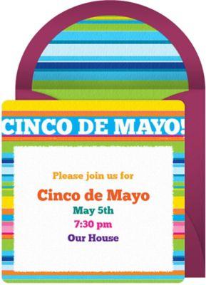 Online Cinco de Mayo Invitations