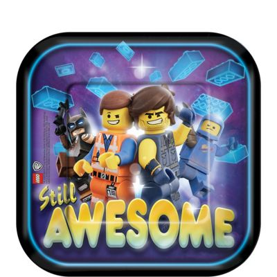 The Lego Movie 2 Kids Birthday Party Tableware Supplies Decorations Balloons UK