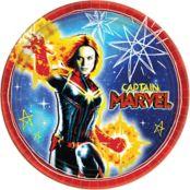 Captain Marvel Birthday Theme