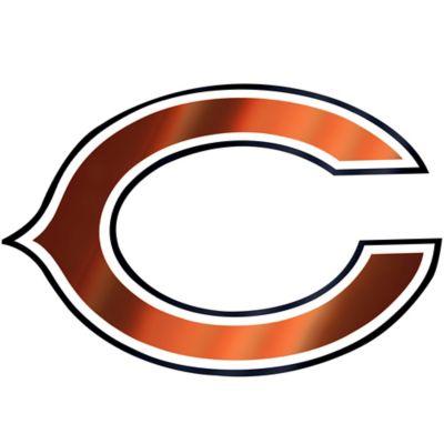 Chicago Logo Decal 5 X 3 Bears Football