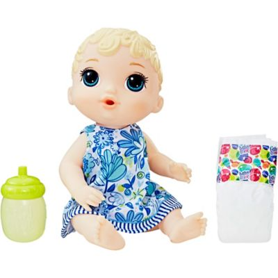 Blonde Baby Alive Lil Sips Baby Doll Party City