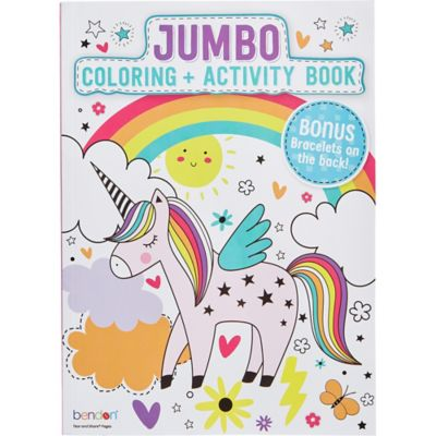 - Unicorn Coloring & Activity Book Party City