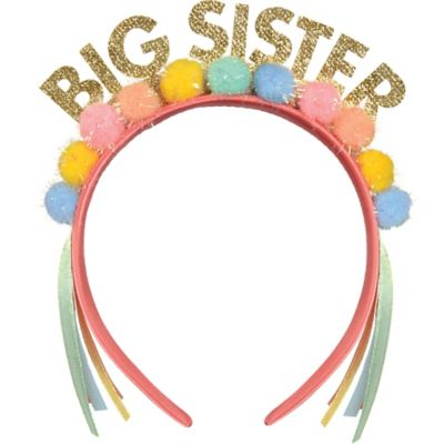 Big Sister Award Ribbon 3in X 5 3 4in Party City