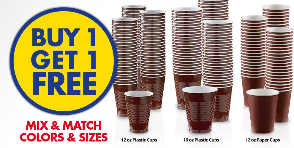 Buy 1 Get 1 Free – Mix & Match Colors &amp Sizes — Chocolate Borwn Tableware