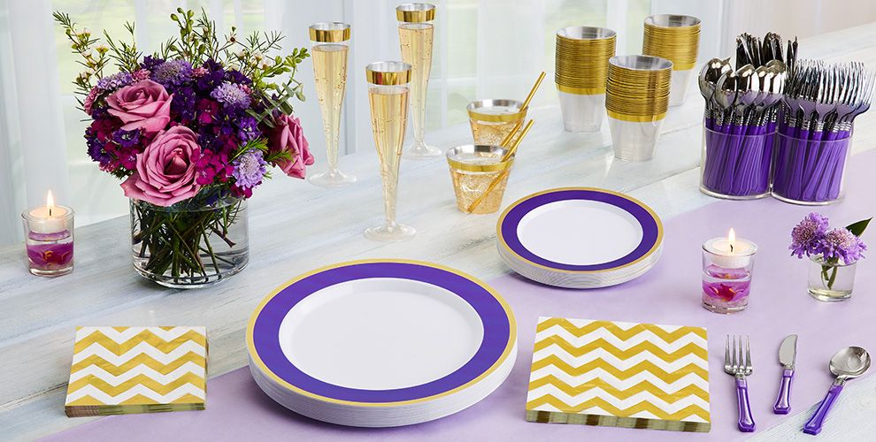 Colorful Border Premium Tableware