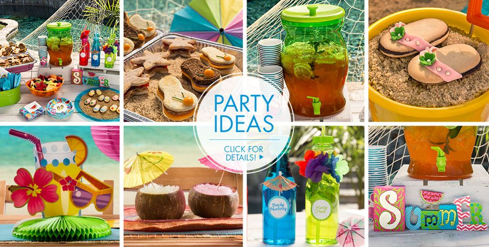 Supplies Surf S Up Party Ideas Click For Details