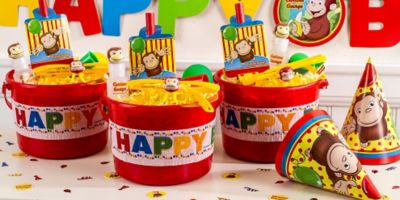 Curious George Party Favors & Curious George Party Favors - Bubbles Glasses \u0026 More | Party City