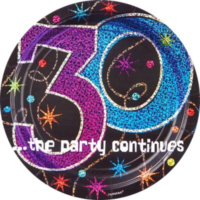 30th Birthday Party Supplies - 30th Birthday Ideas & Themes