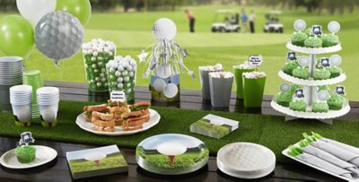 Tee Time Golf Party Supplies ... & Golf Party Supplies Decorations Invitations \u0026 Party Favors | Party ...