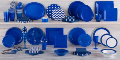 Royal Blue Tableware ... & Royal Blue Tableware - Royal Blue Party Supplies | Party City