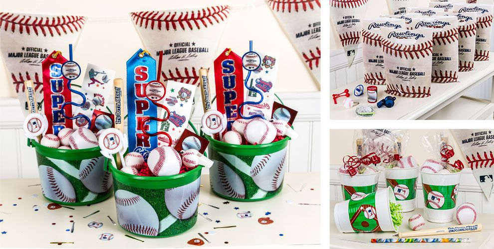 Baseball party favors toys accessories keychains more party city baseball party favors negle Image collections