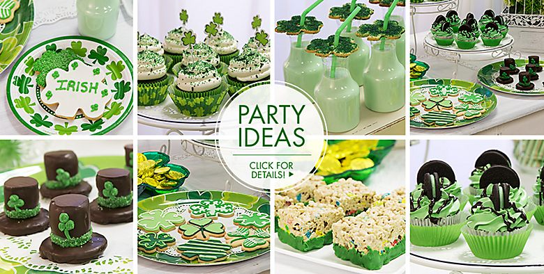 St. Patrick's Day Baking Supplies - Party Ideas