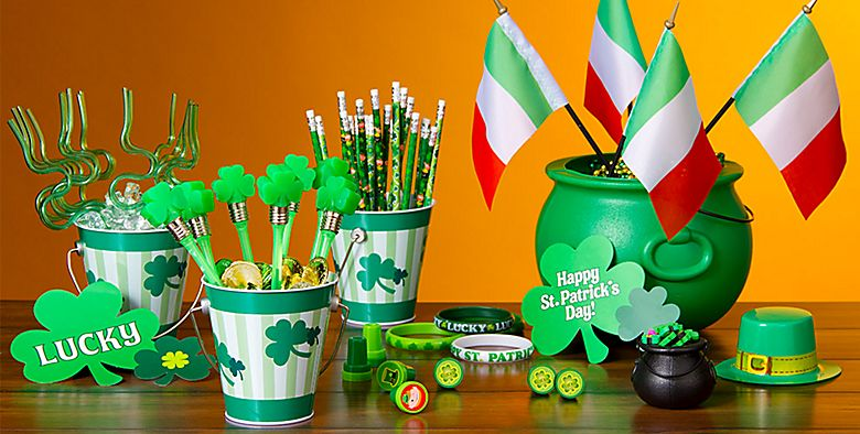 St. Patrick's Day Party Favors