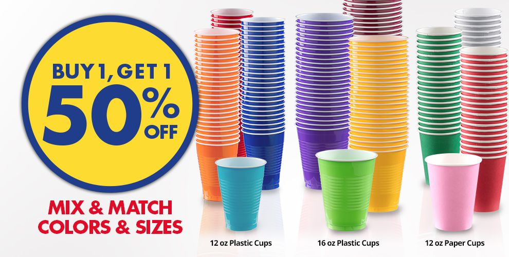 Buy 1 Get 1 Free – Mix & Match Colors &amp Sizes — White Tableware