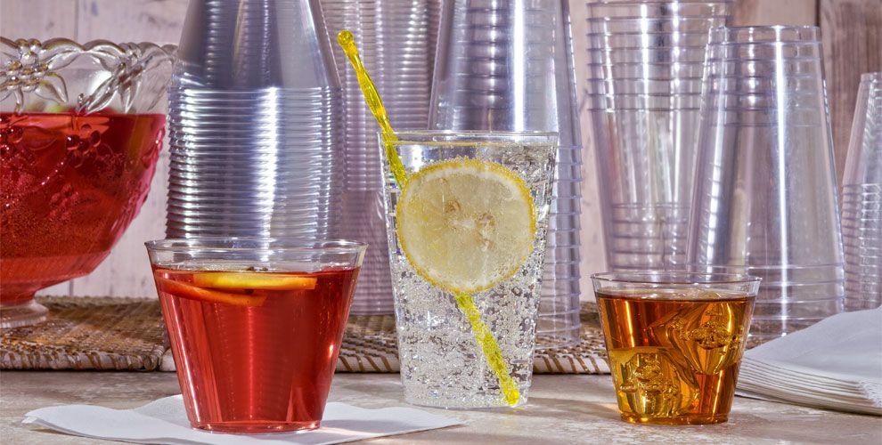 Plastic Cups Stemware