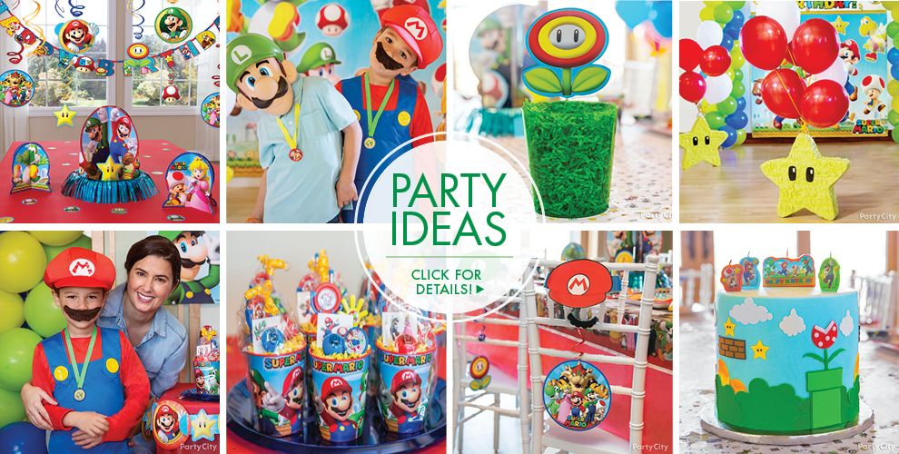 Super Mario Party Supplies