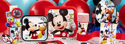 Mickey Mouse Party Supplies  sc 1 st  Party City & Mickey Mouse Party Supplies - Mickey Mouse Birthday Ideas | Party City