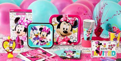 Minnie Mouse Party Supplies  sc 1 st  Party City & Minnie Mouse Party Supplies - Minnie Mouse Birthday Ideas | Party City