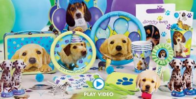 Party Pups Party Supplies Party Pups Birthday Party City