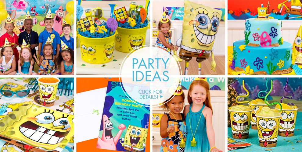 Spongebob Costumes Party Ideas