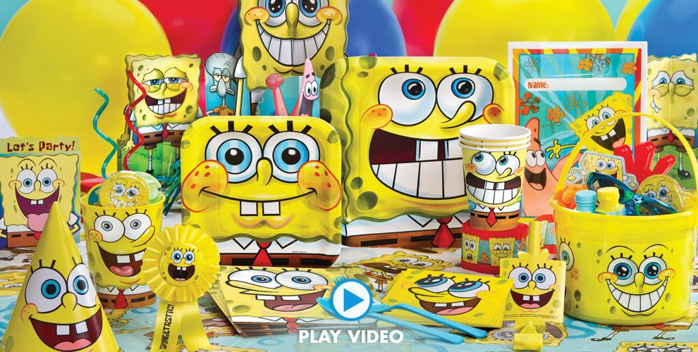 Spongebob Party Supplies 1