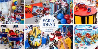 Transformers Party Supplies Transformers Birthday Party City