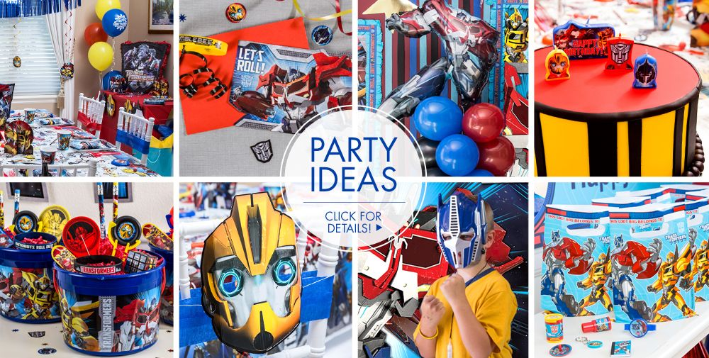 Transformers Party Supplies 3