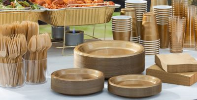 Gold Tableware; Gold Tableware ... & Gold Tableware - Gold Party Supplies | Party City