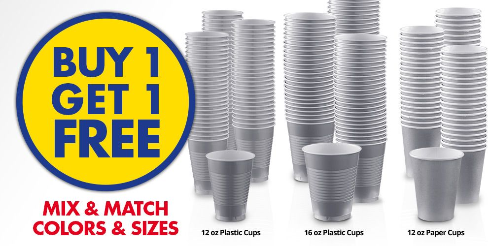 Buy 1 Get 1 Free – Mix & Match Colors &amp Sizes — Silver Tableware