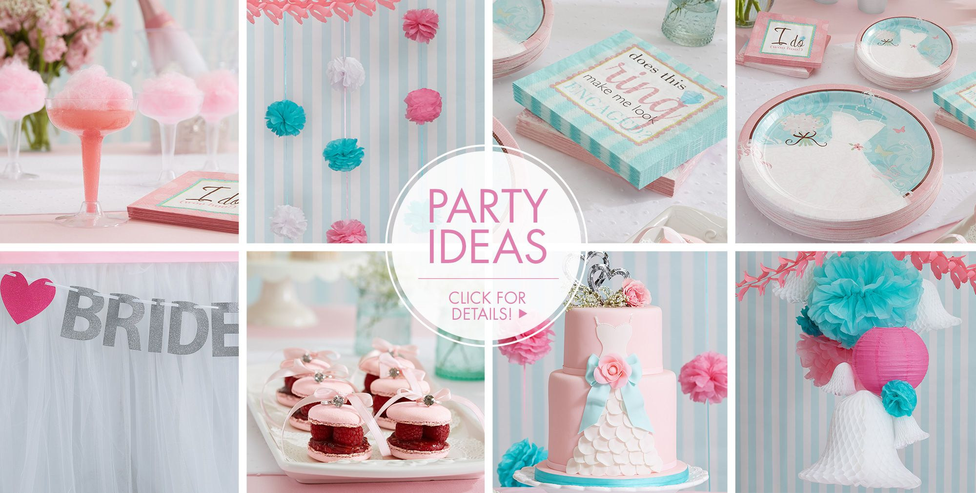 Something Blue Wedding Party Supplies | Party City