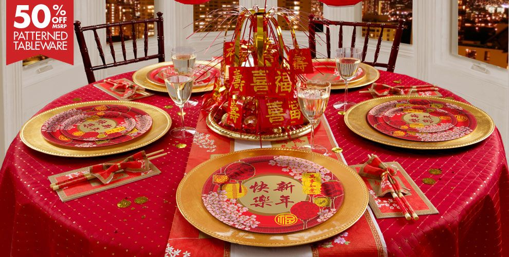 2018 chinese new year party supplies chinese new year for Chinese decorations