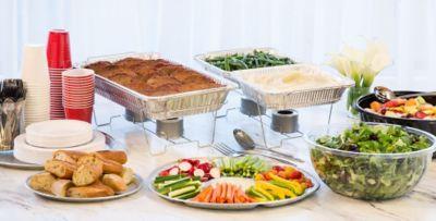 Catering Supplies u0026 Serveware; Catering Supplies u0026 Serveware & Aluminum Serving Trays Bowls u0026 Utensils - Aluminum Pans Chafing ...