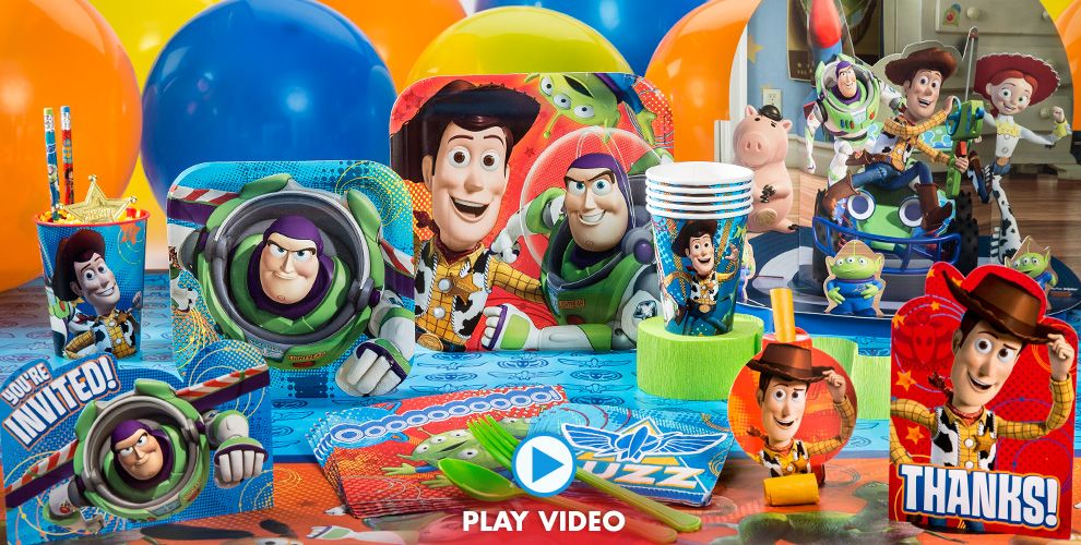 Games To Play At Toy Story Birthday Party : Toy story party supplies birthday city