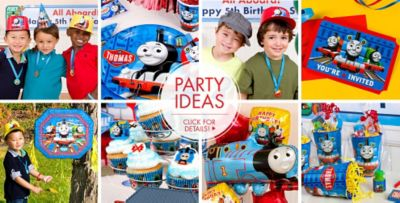 ... Thomas the Tank Engine Party Supplies  sc 1 st  Party City : thomas paper plates - pezcame.com