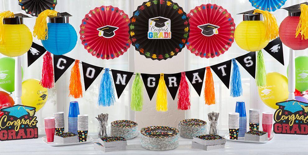 Smiley Graduation Party Supplies