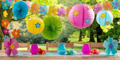 hawaiian themed party decorations ideas