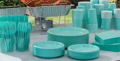 Robinu0027s Egg Tableware; Robinu0027s Egg Tableware ... & Robinu0027s Egg Blue Tableware - Robinu0027s Egg Blue Party Supplies | Party ...